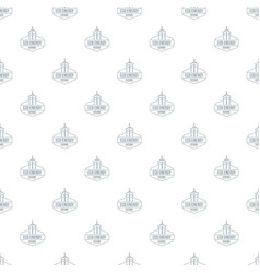 Eco energy pattern seamless vector