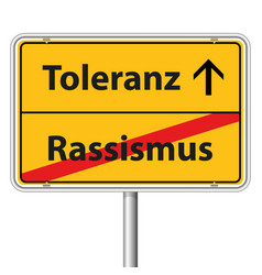 Graphic road sign tolerance vector