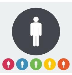 Male gender sign vector image