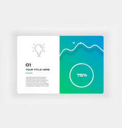 Ui kit icons infographic templates for business vector