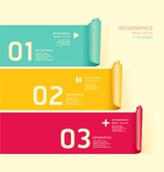 Modern soft color design template vector