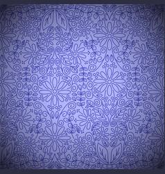 seamless vintage floral wallpaper vector image