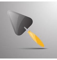 trowel Flat 03 03 vector image vector image