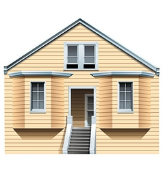 A big old house vector