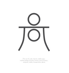 astrology symbol haumea 22 vector image