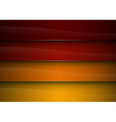 background red orange stripe vector image
