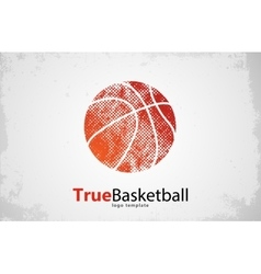 Basketball logo Basketball logo design Sport vector image