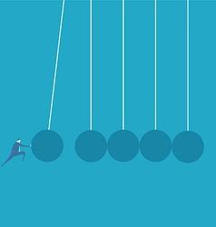 Business challenge concept vector