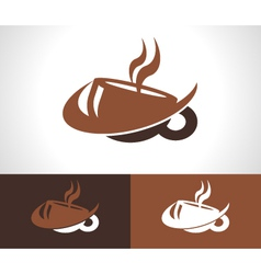 Coffee Cup Logo Icon vector