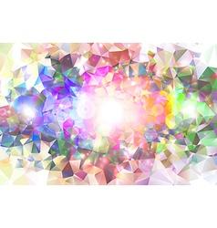Colorful abstract mosaic vector