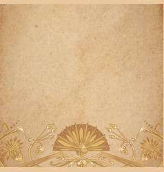 egyptian parchment background vector image