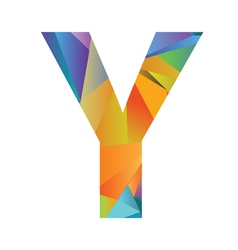 Letter Y vector
