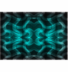Many fine lines on a turquoise background vector