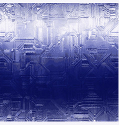 Ombre techno sparkle tech frost micro cold pattern vector