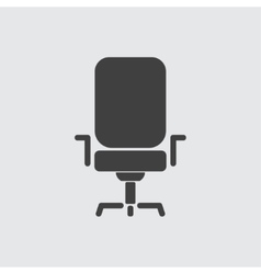 Office chair icon vector image vector image