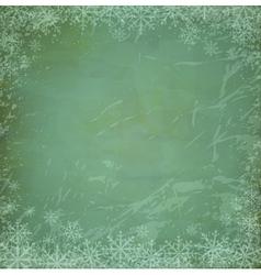 vintage grunge christmas vector image