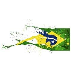Brasil flag vector