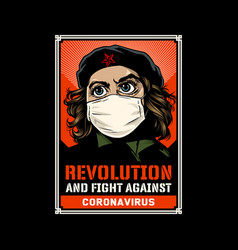 Revolution and fight vector