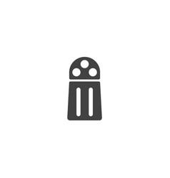 Salt shaker icon vector
