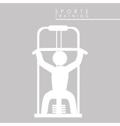 Sports training vector