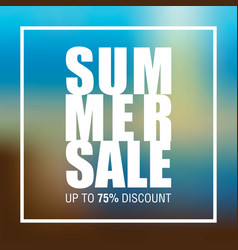 Summer sale badge label promo banner template vector