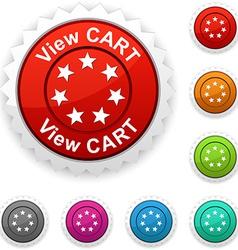 View cart award vector
