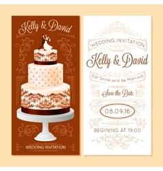 Wedding Invitation Banners Set vector image