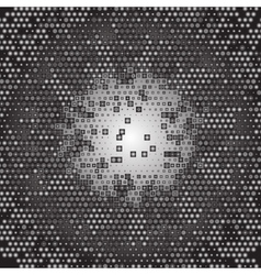 Abstract Gray Technology Background art vector image