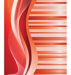 abstract red background vector illustration vector image vector image