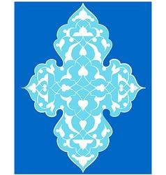 Artistic ottoman pattern series seventy four vector