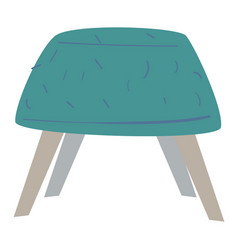 chair or comfy pouf furniture for home or office vector image
