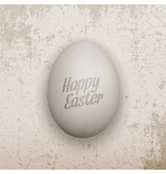 Easter Banner Template Realistic chicken Egg vector