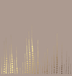 Golden abstract elegant decorative background vector