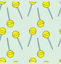 lollipops pattern vector image
