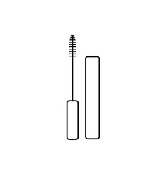 mascara graphic design template isolated vector image