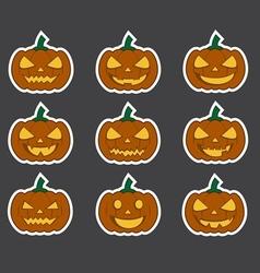 pumpkin3 vector image