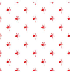 Red ball paintball pattern vector