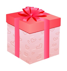 gift for Day of Valentine vector image