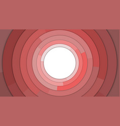 red modern circles copy space abstract background vector image vector image