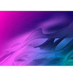 Blue and purple vivid color EPS 10 vector image vector image