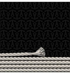 Black background pattern vector