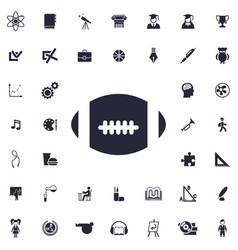 America football ball icon vector