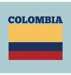 Colombia country flag vector