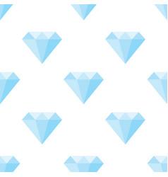 Diamonds pattern on white background vector