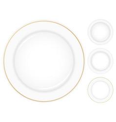 dish vector image