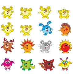 fantastic characters vector image