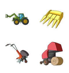 Motoblock and other agricultural devices vector