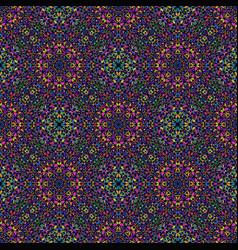 Pastel oriental seamless bohemian gravel ethno vector