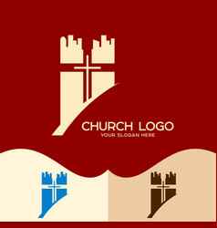the church of jesus christ in the city vector image