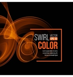 AFere Light Swirl Background vector image
